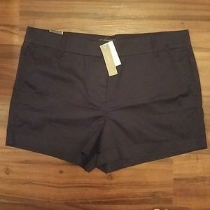 "NWT J. Crew 4"" Stretch Chino Short in Navy"